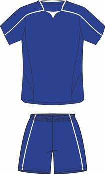 Комплект футбольный (майка+шорты) Ronix 211-4301 - фото 9297