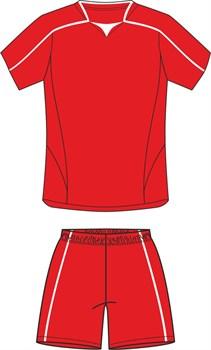 Комплект футбольный (майка+шорты) Ronix 211-2601 - фото 9298