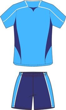 Комплект футбольный (майка+шорты) Ronix 211-4050 - фото 9300