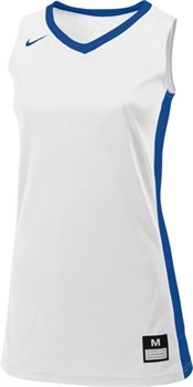 Майка баскетбольная Nike JSY FASTBREAK STOCK 683333-108 - фото 9475