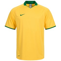 Майка футбольная Nike Herren Sport Trikot DriFit Brasil 264661-705 - фото 9716