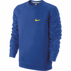 Толстовка Nike CLUB CREW-SWOOSH 611467-409 - фото 9730