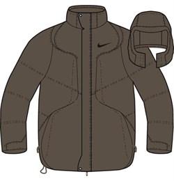 Куртка зимняя Nike Mens Down Jacket 215468-270 - фото 9741