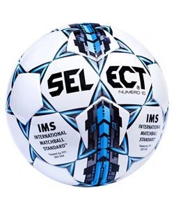 Мяч футбольный Select NUMERO 10 810508-102 - фото 9764