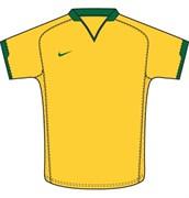 Майка футбольная Nike Herren Sport Trikot DriFit Brasil Touch 269386-705