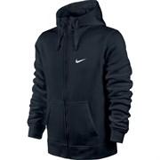 Толстовка Nike Club FZ Hoody-Swoosh 611456-473