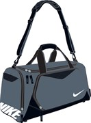 Сумка спортивная Nike TEAM TRAIN MAX AIR MED DUFFEL BA4016-074