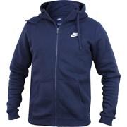 Толстовка Nike NSW HOODIE FZ FLC CLUB 804389-451