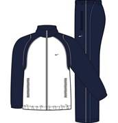 Костюм спортивный Nike FUNDAMENTAL WOVEN WARM UP 212128-455