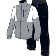 Костюм спортивный Nike REG CL C-BLOCKED WOVEN WARM UP 533082-041