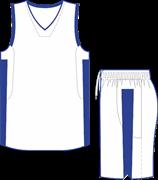 Комплект баскетбольный (майка+шорты) Ronix 607-0143