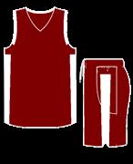 Комплект баскетбольный (майка+шорты) Ronix 607-2501