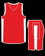 Комплект баскетбольный (майка+шорты) Ronix 607-2601