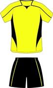 Комплект футбольный (майка+шорты) Ronix 211-1090