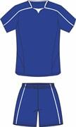 Комплект футбольный (майка+шорты) Ronix 211-4301