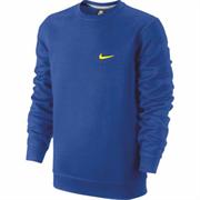 Толстовка Nike CLUB CREW-SWOOSH 611467-409